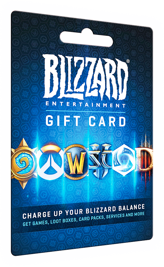 Geschenkkarte Blizzard Entertainment