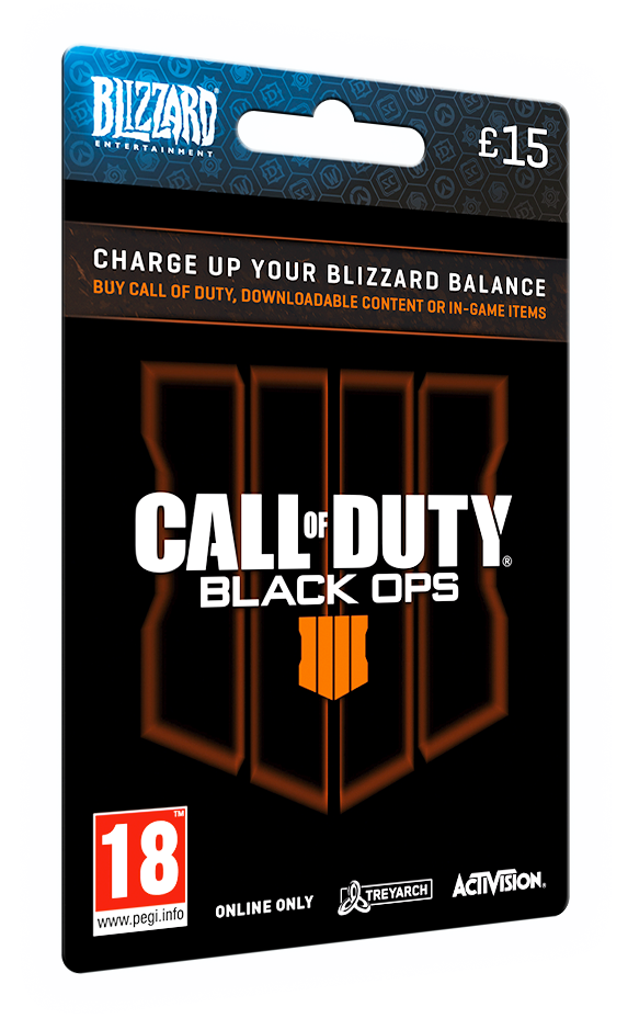 CALL OF DUTY: BLACK OPS 4 CARD